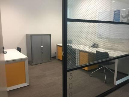3 Desk 9B Approved Office QVB Sydney CBD