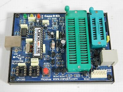 Canakit Uk1300 Usb Pic Programmer Microchip Pic Flash Good Condition