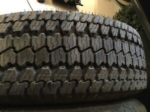 "Truck Tires 17"" and 18"" with 100% tread"