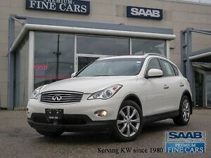 2012 Infiniti EX35 Luxury Leather Moonroof Back-up camera NoAcci