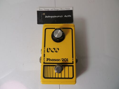 Vintage DOD Phasor 201 Phaser Effects Pedal Phase Shifter Free USA Shipping