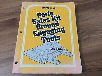 Caterpillar Parts Sales Kit Ground Engaging Tools Bucket Specs Cat 5th Edition