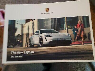 Porsche The New Taycan Soul Electrified Sales Book