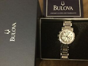 Authentic Bulova Diamond watch
