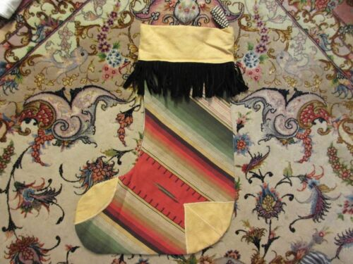 Southwestern Serape Design Christmas Stocking