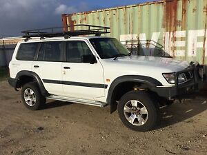 1999 Nissan Patrol st 4.5 petrol and gas auto Wagon Silver Sands Mandurah Area Preview