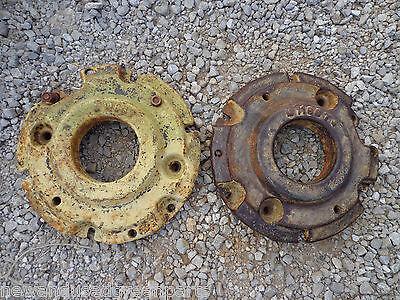 John Deere 320 330 40 420 430 Front Wheel Weight M1168t Rare  Set 2