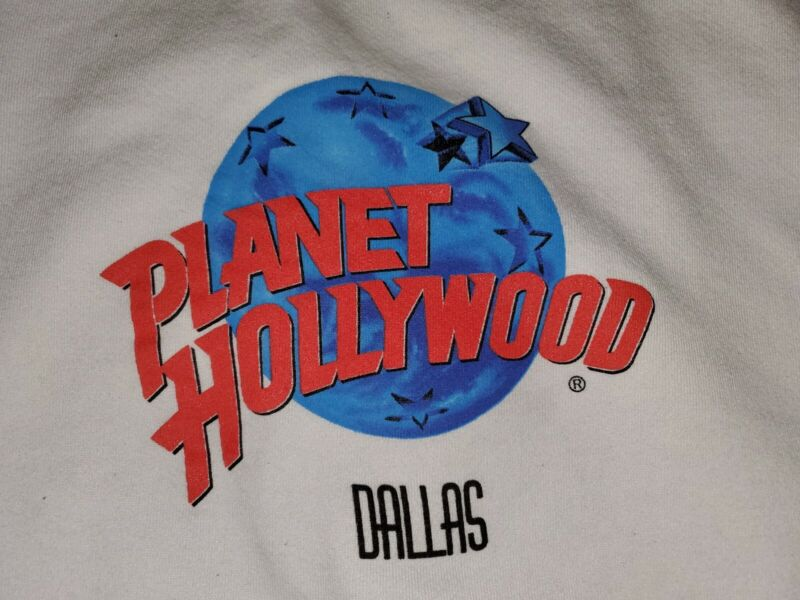 Planet Hollywood Dallas Sweatshirt XXL Vintage