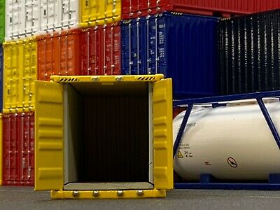 1/64 DCP YELLOW 20' SHIPPING CONTAINER UNIT 2