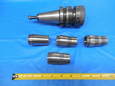 """Unknown Manufacturer R8 Series Spring Collet Chuck Tool Bit Holder 3//8/"""" USED"""