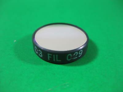 Melles Griot Filter - Red -- 03 Fil 029 -- Used