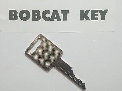1 Bobcat Skidsteer Key Fits Case Excavator Heavy Equipment Ignition Key