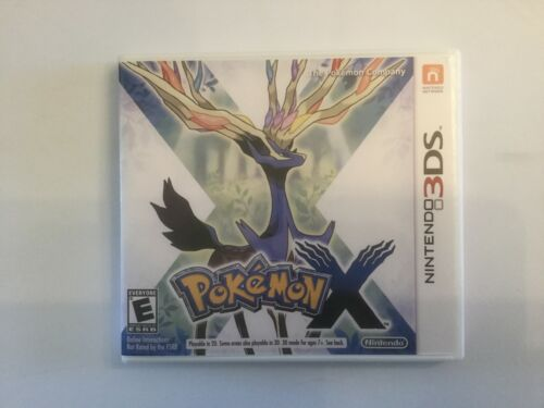 Replacement Case (NO GAME) Pokemon X - Nintendo 3DS