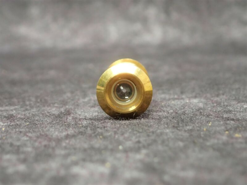 New! IVES One Way Viewer (Peephole) SOLID BRASS SATIN FINISH, P/N 700-B4, NOS