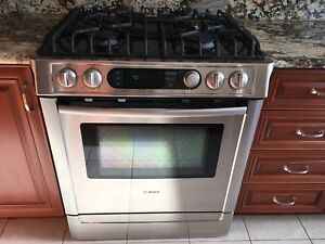 Bosch Gas range Electric oven