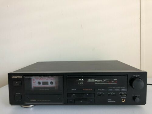 Kenwood KX-3510 Cassette Deck Audiophile Vintage Retro HiFi Stereo HX PRO