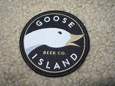GOOSE ISLAND BREWING COMPANY LOGO bourbon county PATCH sew on craft beer brewery