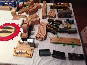 Thomas the Tank Engine assorted wooden pieces. Woonona Wollongong Area Preview