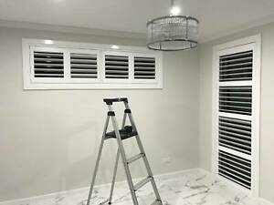 Plantation shutters, Blinds, Curtains, Awnings