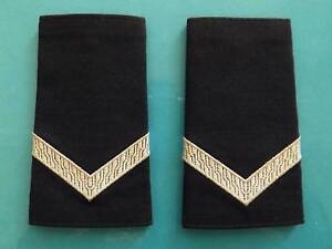VICTORIA POLICE CONSTABLE RANK  EPAULETTES SET Nowra Nowra-Bomaderry Preview