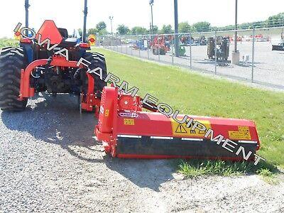 Flail Side Trim Ditch Bank Verge Mower Maschio Girafetta 160si 63cut 35-55hp