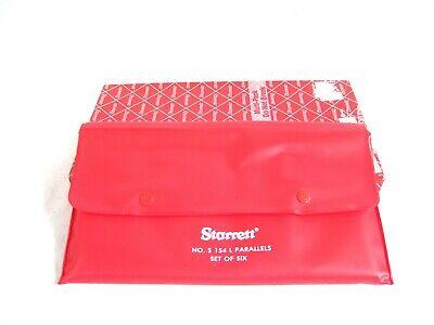 Starrett S154lz Wide Range Gauge Inspection Adjustable Parallel Set Tool Set