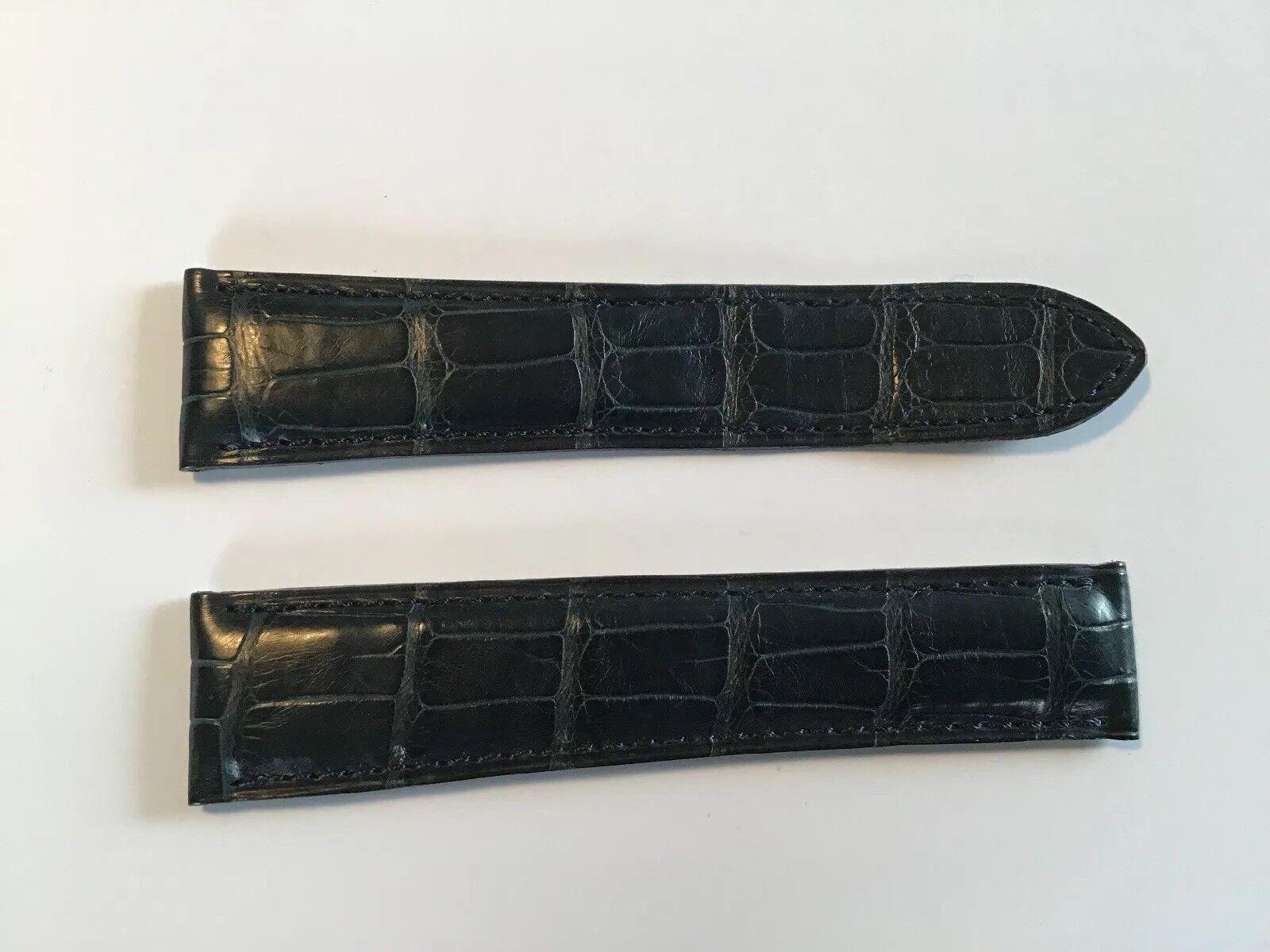 Cartier Kroko Armband  Faltschließe 20mm