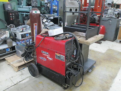 Lincoln Electric Precision Tig 225 1ph Welding Machine Warc Capability Cart