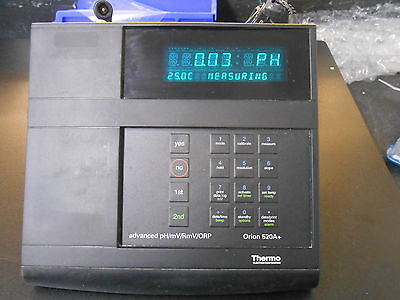 Thermo Orion 520a Advanced Phmvrmvorp Meter Act 917005 Probe