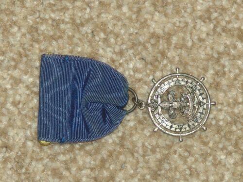 sterling silver Quartermaster medal