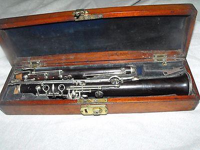 Antique Albert of Brussels Oboe Just Serviced
