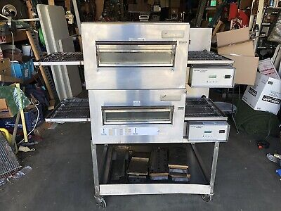 Lincoln Impinger Ii Express Fastbake Electric Ventless Conveyor Pizza Oven X2