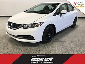 2013 Honda Civic LX BLUETOOTH, HEATED SEATS, USB