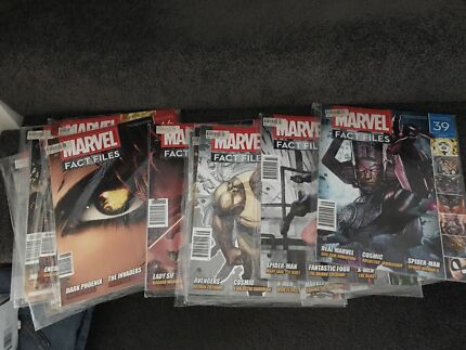 MARVEL COMIC FILES NEW