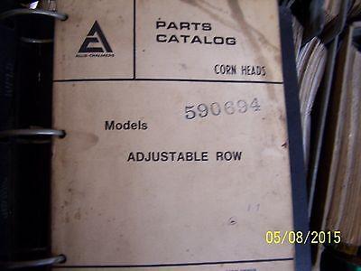 Ac Gleaner Combine Corn Heads Parts Manual