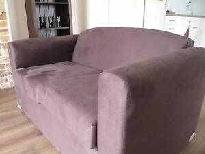 5 day old sofa!! 2 Seater, Brown. Woollahra Eastern Suburbs Preview