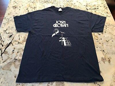 JOSH GROBAN 2005 Closer Tour Rock Concert Music Large T Shirt PROMO ONLY NEW XL