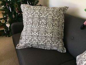 Large grey & white cushions as new Claremont Nedlands Area Preview