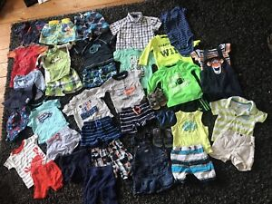 Size 6-12 months baby boys summer lot