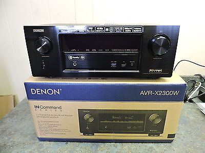 Denon AVR-X2300W 7.2 Channel Full 4K Ultra HD A/V Receiver with Bluetooth WiFi