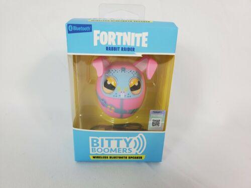 Bitty Boomers Fortnite Rabbit Raider Pink Wireless Bluetooth Speaker - $11.49