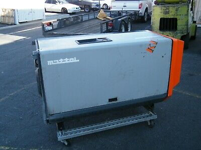 Mattei Rotary Vane Air Compressor Em255 25 Hp Hydrovane Compair Screw Kaeser