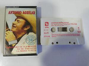 ANTONIO-AGUILAR-14-GRANDES-EXITOS-CINTA-TAPE-CASSETTE-ZAFIRO-1991