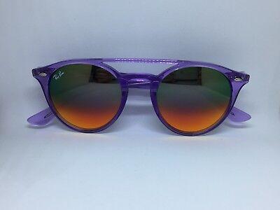 RAY BAN RB4279 sunglasses round violet double bridge round sunglasses 205c29630e