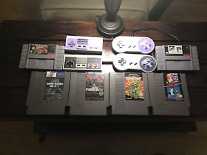 NES and SNES package.