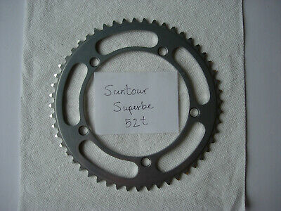 very gd cond. black steel SunTour track lockring