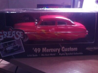 ERTL Grease 1949 Mercury Custom Coupe 1:18 Scale Diecast  by ertl  mercury  nib