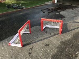 Mini sticks hockey net