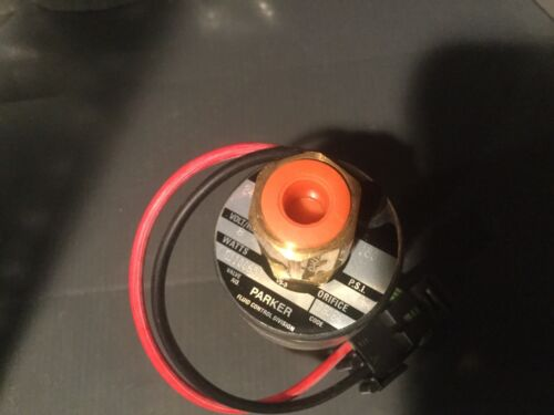24V fluid control valve PARKER HANNIFIN 150PSI G110651