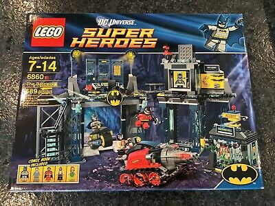 Lego Batman 6860 The Batcave NISB factory sealed - DC